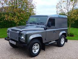 used corris grey land rover defender for sale essex