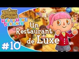 Home Designer Ep10 Animal Crossing Happy Home Designer Un Restaurant De Luxe