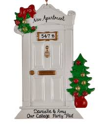 1st Christmas Decorations New Apartment Personalized Ornament