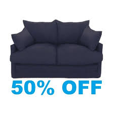 Shabby Chic Sofa Bed by View Our Shabby Chic Sofa Beds Available In Navy Blue Furniture