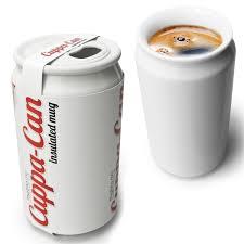cuppa can insulated coffee mug can the green head