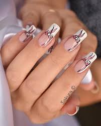 pink nail art design simple nail art designs step a wonderful