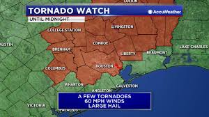 Texas Weather Map Severe Weather Hammers Parts Of Southeast Texas Abc13 Com