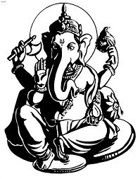 ganesh tattoo600 x 804 96 3kb ganesha black and white tattoo