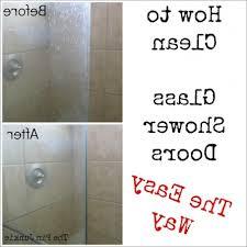 best cleaner for soap scum on glass shower doors best door design