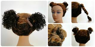 Bun Extension Hair Piece by Curly Pigtails Cheerswirls Hairpieces By Pearl Beauty Supply