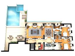 house plans with in suite 3 bedroom apartment house plans penthouse floor 3d