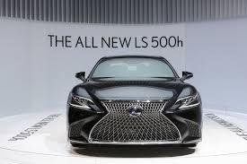 xe lexus dep nhat the gioi chiêm ngưỡng vẻ đẹp của lexus ls 500h tại geneva
