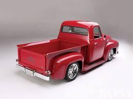 Popular Ford Models 1955 Ford F100 Pickup Truck Custom Paint Job 55 Pinterest