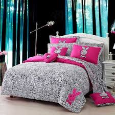 playboy leopard print bedding set from e bedding sets girls