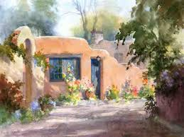 adobe house paint along with johannes vloothuis adobe house in watercolor