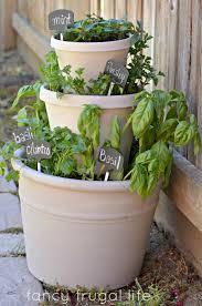 pot herb garden 122 cute interior and stacked pots herb garden