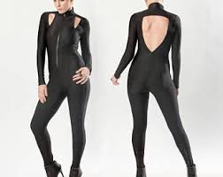 Trinity Halloween Costume Catwoman Costume Etsy
