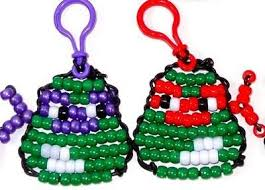 How To Make Christmas Ornaments Out Of Beads - 397 best pony beads images on pinterest pony beads beads and