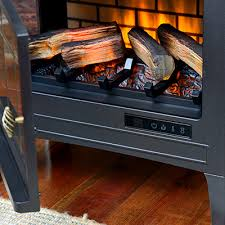 Duraflame Electric Fireplace Duraflame 3d Black Infrared Electric Fireplace Stove With Remote