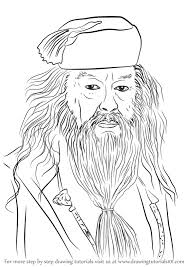 learn draw albus dumbledore harry potter harry potter