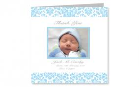 baby thank you cards personalised baby thank you cards babycards ie