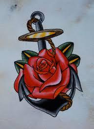 and anchor design tattoos anchor