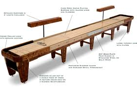 new shuffleboard table dimensions 35 on home design ideas with