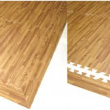 wood tiles rubber flooring