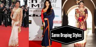 How To Drape A Gujarati Style Saree Must Try Different Ways To Drape A Saree Pallu Lifestyle