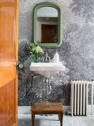 Wallpaper In Bathroom Ideas by Bathroom Wallpaper On Wallpaperget Com