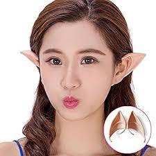 amazon com aradani costumes anime elf ears ear tips toys u0026 games