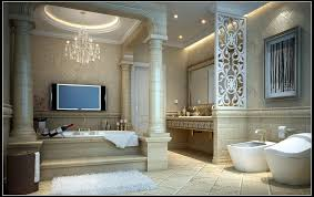 bathroom tv ideas furniture home cheerful master bathroom amazing interior