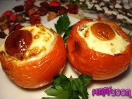 cuisiner la tomate recette tomates farcies aux œufs entrée chaude cuisine femme