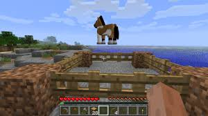 How To Build A Horse Barn In Minecraft Minecraft 1 6 How To Catch Tame Breed And Ride Horses