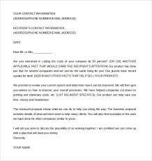 business partnership proposal letter template best business template