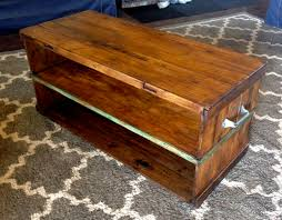 Shipping Crate Coffee Table - home