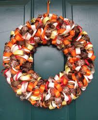 fall ribbon beautiful fall ribbon wreath beautiful autunno e corone di nastro