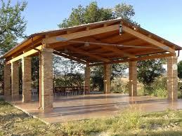 prezzi tettoie in legno per esterni strutture per esterni in legno lamellare