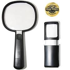small magnifier with light amazon com gift set elderly macular degeneration glasses with led