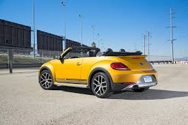 new volkswagen beetle 2017 volkswagen beetle dune convertible first test review motor