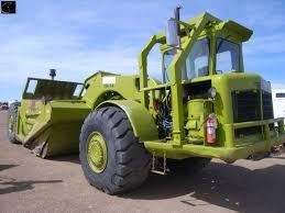 terex ts14 motor scraper sn 22450 471 detroit diesel front eng