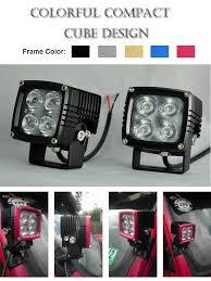 led work lights for trucks square cree led work light super bright cree xml10w 4 spot ip68