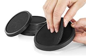 Unique Drink Coasters Amazon Com Silicone Drink Coasters With Absorbent Soft Felt
