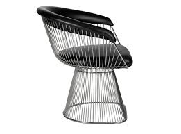 charmingly modern saarinen tulip chairs