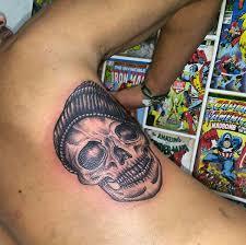 tattoo calavera santapacienciatattoosantapacienciatattoo