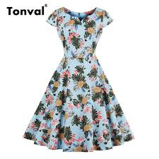 aliexpress buy size 7 10 vintage retro cool men aliexpress buy tonval women cap sleeve vintage dress