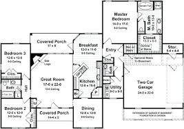 split floor plan home bold inspiration house plans with split