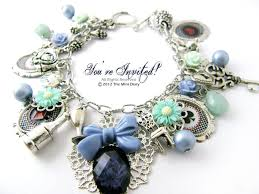 handmade charm bracelet images Another alice in wonderland charm bracelet diary of a miniature gif