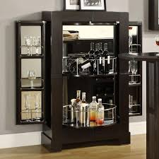 Glass Door Bar Cabinet Inspiring Glass Bar Cabinet Designs 129 Best Images About Bar On