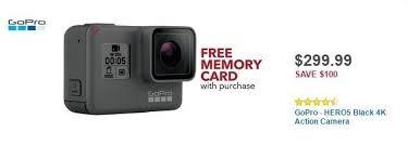 best buy gopro black friday deals best buy weekly ad gopro hero5 black for 299 99 slickdeals net