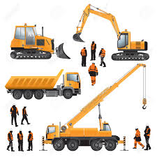 15 257 excavator stock illustrations cliparts and royalty free