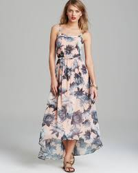 french connection dress lily collage maxi lyst