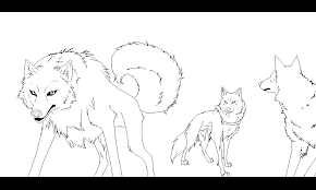 Wolf S Rain Style Pack By Cookiecanniblesofiel On Deviantart Wolf Pack Coloring Pages