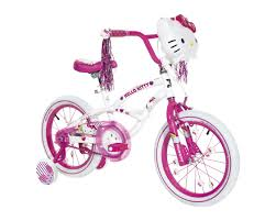 Hello Kitty Bedroom Set In A Box Girls 16 Inch Dynacraft Hello Kitty Bike Toys
